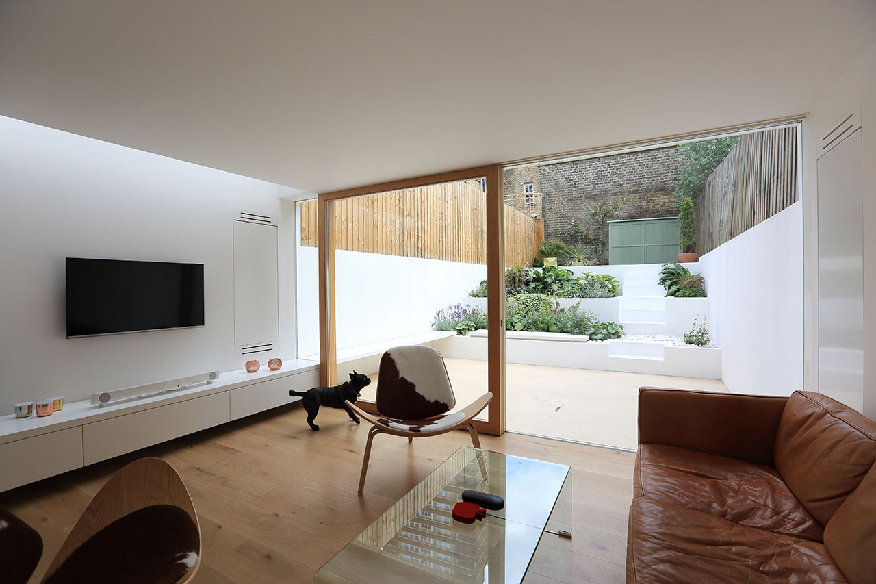 Living Room Extension Extension To A Private House Tamir Addadi Architecture